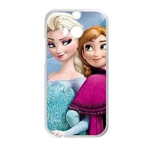 HTC One M8 Phone Cases White Frozen BCH001811