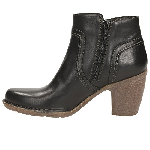 Clarks Détente Femme Boots/Bottes Carleta Paris En Cuir Noir