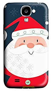 S4 Case, Samsung S4 Case, Customized Protective Samsung Galaxy S4 Hard 3D Cases - Personalized Santa Cover