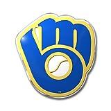 Team ProMark MLB Milwaukee Brewers Die Cut Color Automobile Emblem