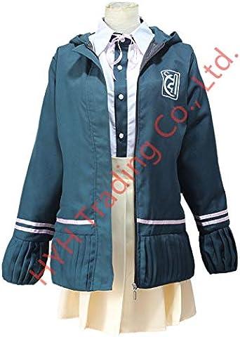 MSSJ Super DanganRonpa 2 Chiaki Nanami Cosplay disfraces chaqueta camisa falda hecha para mujeres L traje: Amazon.es: Ropa y accesorios