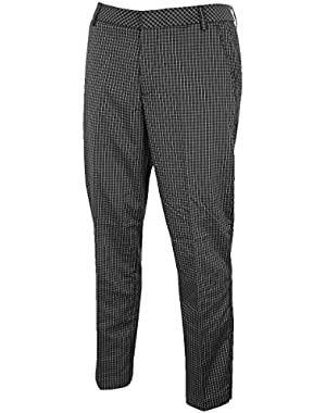 Golf Men's Plaid Tech Pant - US 36-30 - Black
