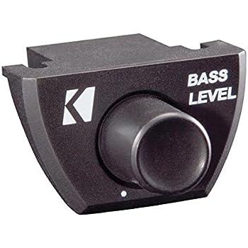 Amazon new kicker 12cx12001 1200 watt amp monoblock car audio kicker 43cxarc bass remote control for kicker cxa seriespxa seriecx sciox Gallery