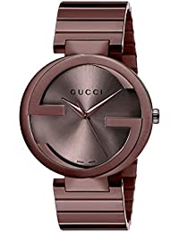 Swiss Quartz Metal and Alloy Dress Brown Men's Watch(Model: YA133211)