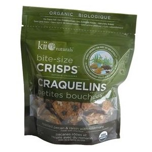 Kii Naturals Pecan Raisin Bite Size Crisps, 4.3 Pound