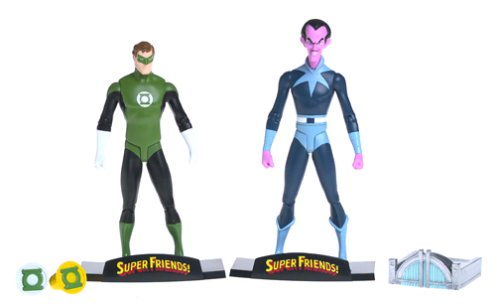 Super Friends Green Lantern (Super Friends: Green Lantern & Sinestro Deluxe Action Figure Set)