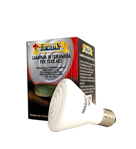 6 opinioni per Lampada in ceramica Fortesan- Riscaldante, infrarossi, non emette luce, in vari