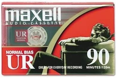 Maxell Audio Cassette Normal Bias UR 90 Minutes Brand New Sealed