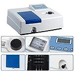 Wellish UV Spectrophotometer 721 Digital Display Visible Spectrophotometer Wavelength Range 340-1000nm Lab…