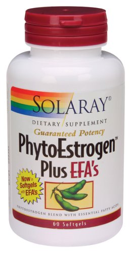 Solaray - Phyto-oestrogènes + EFA, 60 gélules