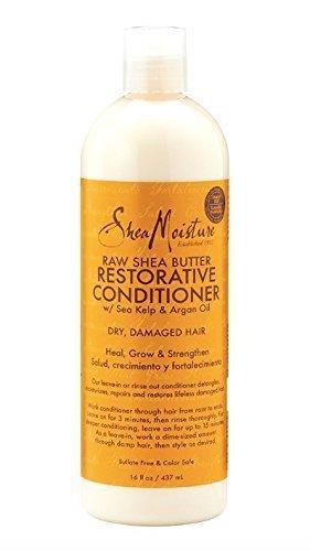 SheaMoisture Raw Shea Butter Restorative Conditioner, 16 Ounce