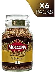 Moccona Coffee Classic Dark Roast Freeze Dried (200g x 6 Packs)