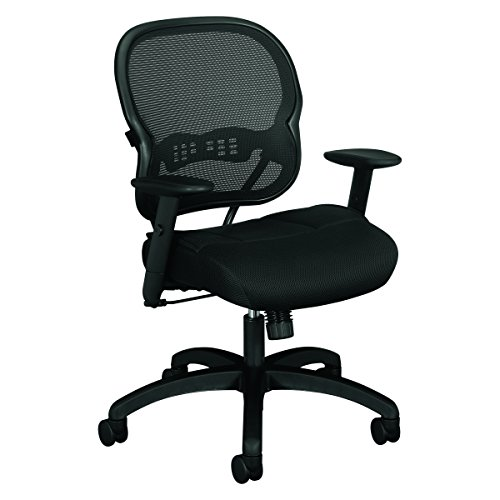 HON Wave Mid-Back Chair - Mesh Office or Computer Chair with