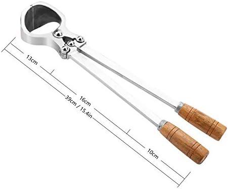 HEEPDD Alicates de castraci/ón Castraci/ón Herramientas Castraci/ón de Ganado de Acero Inoxidable Instrumentos Veterinarios de Castraci/ón para Toros Ovinos