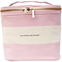 kate spade new york lunch tote - blush rugby stripe