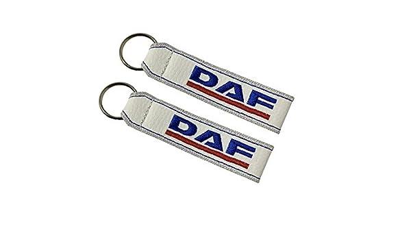 Amazon.com: DAF double sided lanyard keychain white (1 pc ...