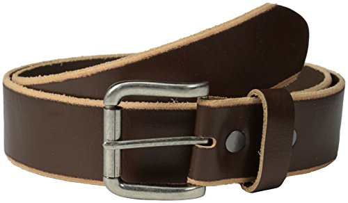 Bill Adler Men's Skived Edge Jean Belt, Brown, 36
