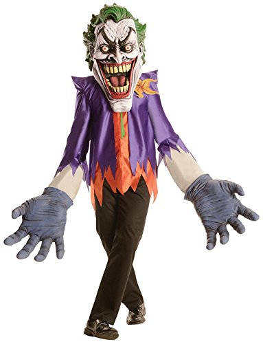 DC Comics Batman The Joker Creature Reacher Deluxe Oversized Mask and Costume