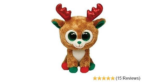 7c97d1bcf37 Amazon.com  Alpine Reindeer Beanie Boo Medium - Arctic Stuffed Animal by Ty  (36993) by Ty Beanies  Toys   Games