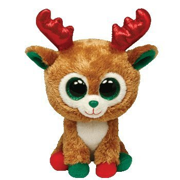 2b42a69a220 Image Unavailable. Image not available for. Color  Alpine Reindeer Beanie  Boo Medium ...