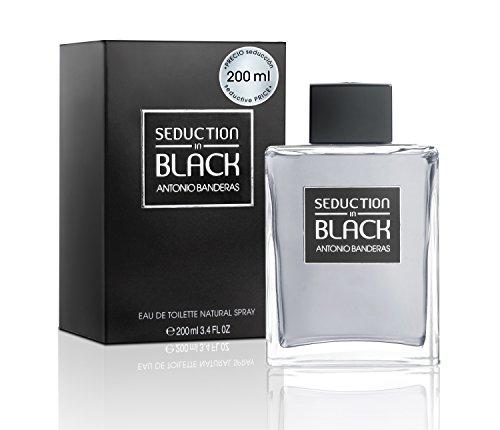 0fefebf20 Antonio Banderas Seduction In Black for Men Eau De Toilette Spray