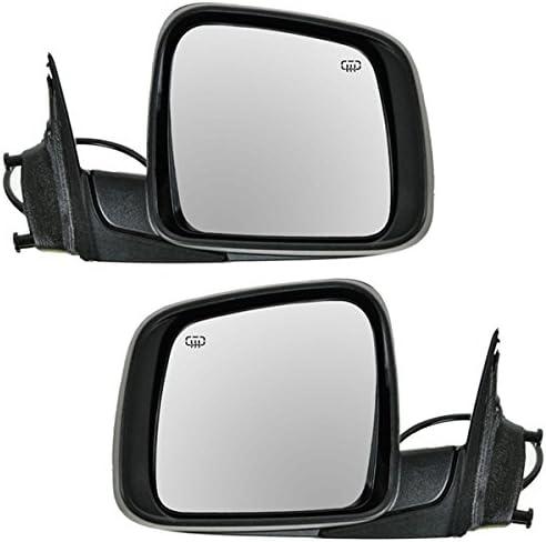 Koolzap For 1112 Grand Cherokee Power Heat Manual Fold Door Mirror Left Right Side SET PAIR