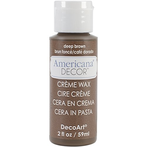 UPC 766218079176, Deco Art Americana Deep Creme Wax, 2 oz, Brown