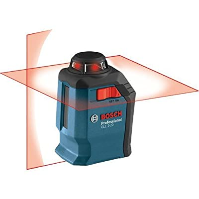 Bosch GLL2-20-RT Self-Leveling 360 Degree Line and Cross Laser (Certified Refurbished) from Bosch