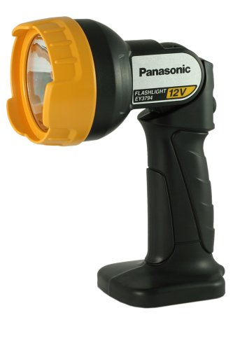 Bare-Tool Panasonic EY3794B 12-Volt Pivoting Head Flashlight (Tool Only, No -