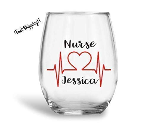 c33e64d9fe6 Image Unavailable. Image not available for. Color: Custom wine glass ...