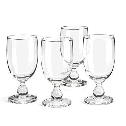 - Dansk Hannah Goblet (Set of 4), Clear