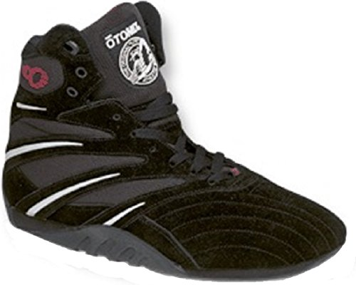 OTOMIX - Zapatillas para deportes de interior de Piel para hombre Negro negro