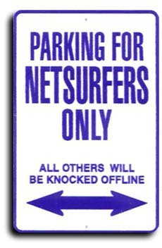 Miscellaneous Parking Signs (Netsurfers - Miscellaneous Parking Signs)
