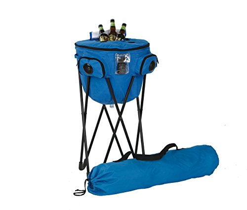 Picnic Plus Blue Tooth Music Tub Cooler With Carry Bag Capacity 72 Cans Plus Ice ()