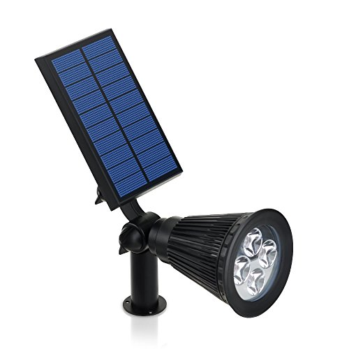 VicTsing Solar Powered LED Landscape Wall/In-ground Lights, Waterproof Outdoor Light for Yard Garden Driveway,200...