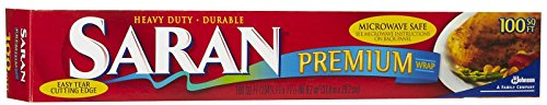 Saran Premium Plastic Wrap - 100 ft (Serving Wrap)