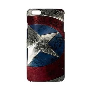 KJHI Captain America 3D Phone Case for iPhone 6 Plus WANGJING JINDA