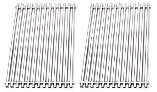 Broilmann Cooking Grate Set of 2 Cooking Grid Replacement for Grills Weber 7521, Weber Genesis Silver a and Spirit 500 (14.9 x 11.3 x 0.5), 2 Pack