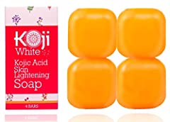 Say Goodbye to Freckles, Sun Spots and Skin Discoloration with the #1 Kojic Acid Face Lightening Soap by Koji White! Are you struggling with unsightly pimple scars, freckles and hyperpigmentation? Have you already tried everything unde...
