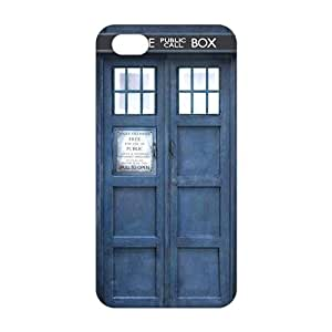 Blue police box 3D Phone Case for iPhone 5s
