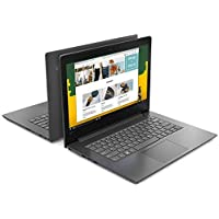 "Lenovo  V130 Portátil 14"" (HD 1366x768 Pixeles, Intel Celeron N4000 1.10 GHz, 4GB RAM, 500GB, Windows 10 Home), Gris"