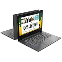 "Lenovo  V130 Portátil 14"" (HD 1366x768 Pixeles, Intel Celeron N4000 1.10 GHz, 4GB RAM, 500GB, Windows 10 Home), Gris"