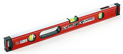 Kapro 985-41X-36  Apollo Box Level with Magnified Vials and Plumb Site, 36-Inch Length