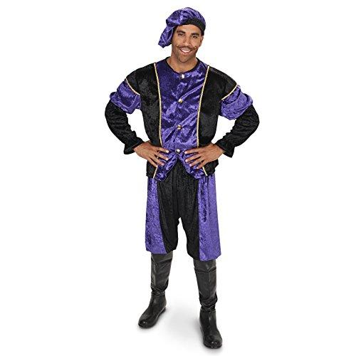 [Renaissance Men's Costume Adult Costume XL] (Medieval Man Costume)
