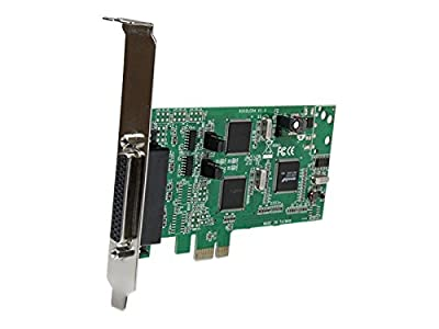 StarTech.com 4 Port PCI Express Dual Profile PCIe Serial Card Adapter with Breakout Cable - 2 x RS232 2 x RS422/RS485 PEX4S232485 from Startech