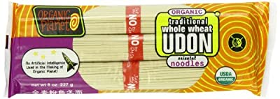 Organic Planet Organic Traditional Whole Wheat Udon Noodles, .5-Pounds (Pack of 12) from Organic Planet