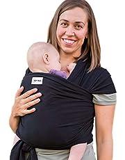 Sleepy Wrap Baby Carrier, Stretchy Ergo Sling From Newborns to 35lbs