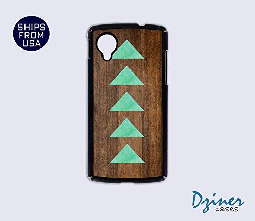 Nexus 5 Case - Wood Teal Arrow iPhone Cover