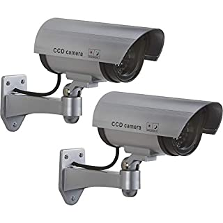 Ironton Battery Operated Simulated Decoy Surveillance Bullet Cameras - 2-Pk.