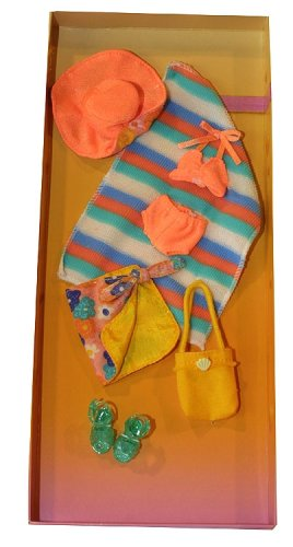 ORANGE SWIMSUIT & SARONG by Only Hearts Club